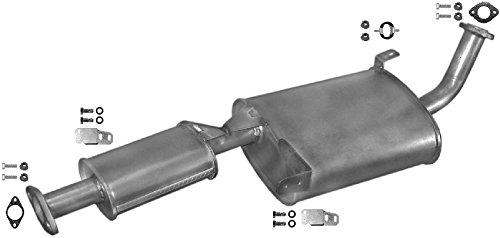 ETS-EXHAUST 51082 Silenziatore marmitta Centrale + kit di montaggio (pour MAVERICK 2.7 TD 4X4 HARD TOP 1993-1998 / TERRANO II 2.7 TD 4X4 HARD TOP 1993-1999) ETS-SCARICO
