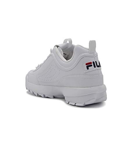 Pelle Sneakers 10102621fg Fila Uomo Bianco ABgwYtqx