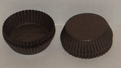 #601 Brown Paper Candy Cup Cups 1000 Pack Candy Making Supplies