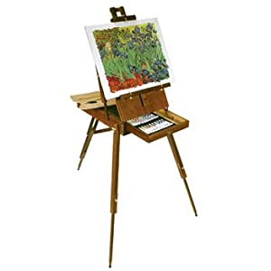 battat italian artist easel 56 pieces with paint supplies