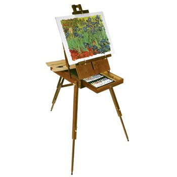 Amazon Com Battat Italian Artist Easel 56 Pieces With Paint Supplies