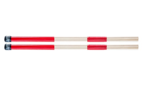 Promark H-RODS Hot Rods Drumsticks (1 Pair) - Smooth Grip for Easy Playability - Constructed of 19 Birch Dowels - Perfect for Small Venue and Acoustic Performances, .550