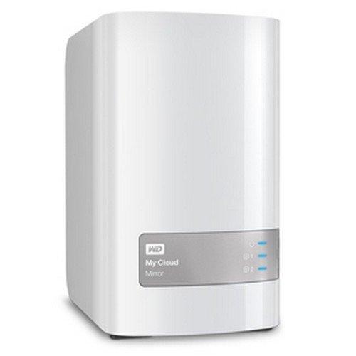 Western Digital 8TB (2x4TB) My Cloud Mirror Gen 2, NAS 2 Bay, Persönlicher Cloud Speicher, Media Server, Backup, Handy und Tablet Sicherung, Syncronisations Software