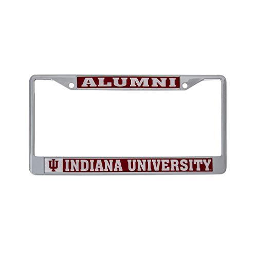 Indiana University License Plate Frame - Desert Cactus Indiana University Alumni Metal License Plate Frame for Front Back of Car Officially Licensed (Alumni)