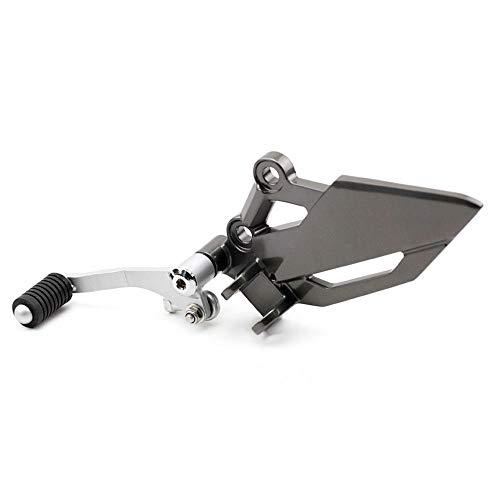 (FidgetKute Footrest Peg Brake Pedal Shift Lever for VERSYS/Z 250/300 EX 300R/250R Footrest Bracket Peg Shift Lever)