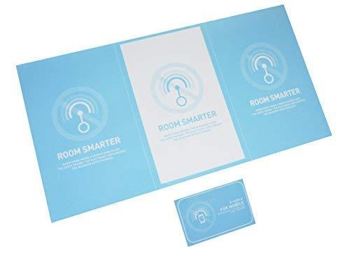 部屋を電磁波から開放 イージーセットC SMARTER 「ROOM 「ROOM SMARTER 1枚」と「FOR MOBILE 1枚」のセット商品 MOBILE 30日間の返金保証あり 2色(色はお任せとなります) B010ASHPD6, 浪岡町:f4f2ff82 --- krianta.ru