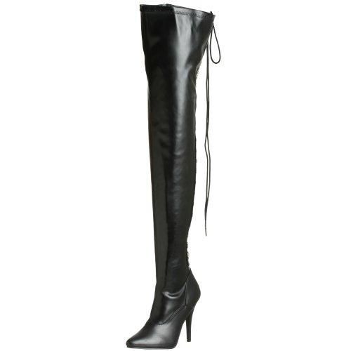 Women's 3063 Pu Pleaser Boot Seduce Black 7pxEYwdY