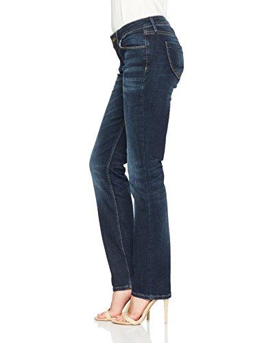 Donna a Dritto Taglio Blau Blue Cross Dark Rose 040 Jeans w6EqnaO7