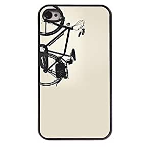 SHOUJIKE Bicycle Design Aluminum Hard Case for iPhone 4/4S