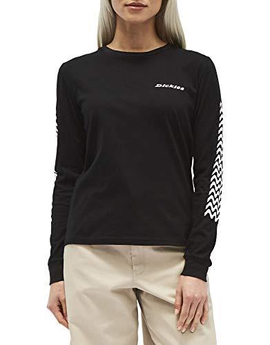 - Dickies Girl Juniors' Logo Long Sleeve T-Shirt