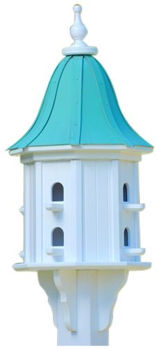 The Birdhouse Chick - Copper Dovecote Birdhouse-PVC 36x14