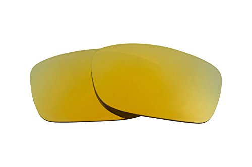 Best SEEK Replacement Lenses Oakley FIVES SQUARED - Polarized Gold Mirror