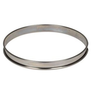 (Gobel Flan Pie Ring Mold Non-Stick Stainless Steel Ø 140mm H 27mm )