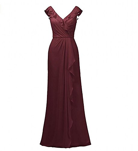 Beauty burgunderfarben Damen KA Beauty KA Kleid xHwzv8nO0