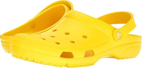 Crocs Unisex Coast Clog Lemon 11 Women / 9 Men M US