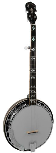 Gold Tone OB-250+TP Orange Blossom Banjo with Tony Pass Schaeffer Rim (Five String, Vintage Mahogany)