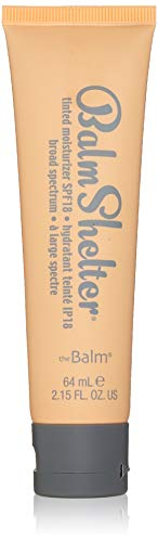 BalmShelter Silky-Smoth Tinted Moisturizer, Light/Medium, Polished Complexion, Weightless, SPF 18, 2.07 Fl Oz