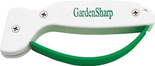 (FORTUNE PRODUCTS INC 006 Gardensharp Tool Sharpener,White and Green,Pack of 1)