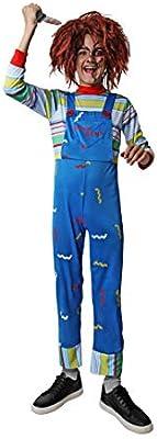 Costumizate! Disfraz de Muñeco Asesino para niños talla7 a 9 años ...