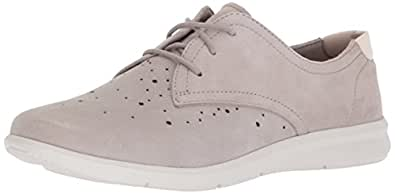 ROCKPORT Women's Ayva Oxford, Light Grey, 5 M US