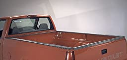Dee Zee 11991B Black Tread Side Bed Caps with Stake Holes