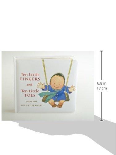 Ten Little Fingers and Ten Little Toes padded board book