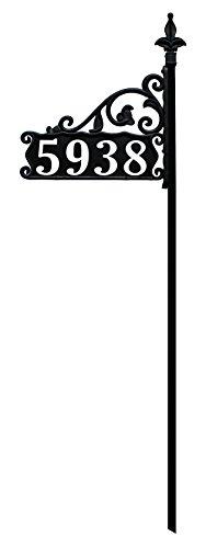 Boardwalk Reflective 911 Address Sign on 47