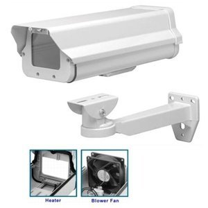 - HBPRO-601HB Outdoor CCTV Camera Housing, Built in Heater/Blower, 24VAC