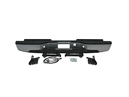 Step Bumper Brackets (Streetnshow 99-06 Silverado 2500hd 3500 Rear Step Bumper Silver w/ Brackets Light Kit Bolts Bar)