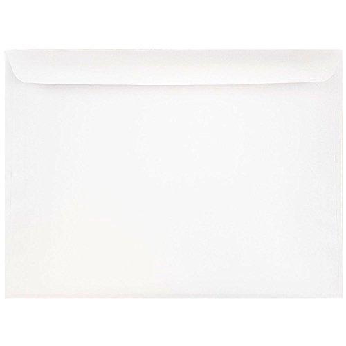JAM PAPER 9 1/2 x 12 5/8 Booklet Commercial Envelopes - White - 25/Pack