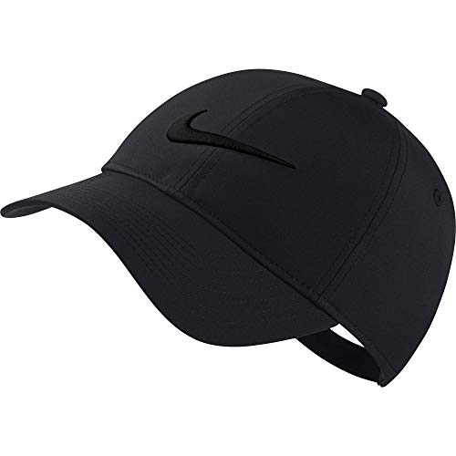 (Nike Women's L91 Cap Core, Anthracite/Black, Misc)