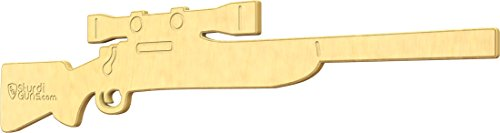 SturdiGuns Kids Hunting Rifle Junior Wooden Toy Gun with, made in America, Extremely Durable