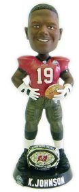 Tampa Bay Buccaneers Keyshawn Johnson Super Bowl 37 Ring Forever Collectibles Bobble Head