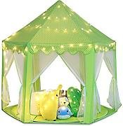 e-Joy Kids Indoor/Outdoor Tent Fairy Princess Castle Tent, Portable Fun Perfect Hexagon Large Playhouse Toys for Girls 55