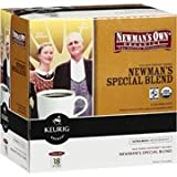 keurig 40 elite - Keurig K-Cups, Newman's Own Organics Special Blend Extra Bold, 18 ct(Case of 2)