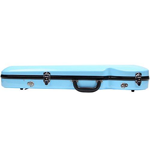 Fiberglass Violin Case Full Size (Sky Blue) by STRING HOUSE (Image #3)