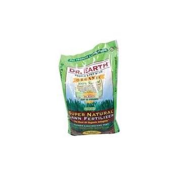 Dr. Earth 715 Super Natural Lawn Fertilizer, 18-Pound