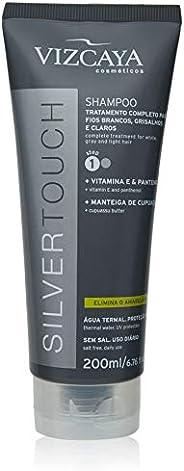 Vizcaya Shampoo Silver Touch Cinza 200 Ml