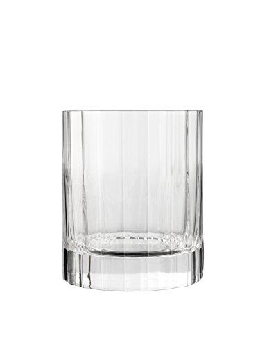 Luigi Bormioli 10823/02 Bach 11.25 oz Double Old Fashioned Glasses, Set of 6, Clear