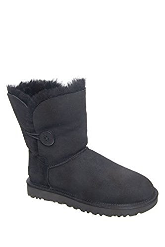 UGG Women's Bailey Button II Winter Boot - Black - 8 B(M) US