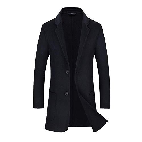 Vent Double Manteau Face Gentleman Black Rlrl Homme Veste Costume Casual Sfw8nCq