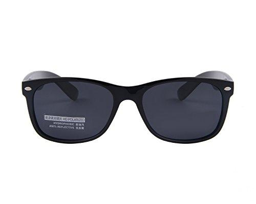 4f41ca48c5 MERRY S Retro Rewind Classic Polarized Wayfarer Sunglasses S683 (Black