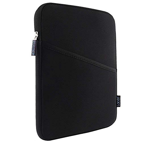 (Lacdo Shockproof Tablet Sleeve Case for 11 Inch New IPad Pro 2018 | IPad Pro 10.5 Inch | 9.7 Inch New IPad | IPad Air 2 | Samsung Galaxy Tab 10.1 Protective Bag, Fit Apple Smart Keyboard, Black/Black)