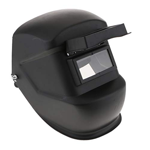 [해외]Almencla 용접 헬멧 차 광 용접 면 렌즈 앞에 장착 된 난 연 성 조절 블랙 / Almencla Welding Helmet Blackout Welding SurfaceFront Lens Flame Retardant Adjustable Black