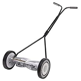 "Great States Model 304-14 Five Blade 14 Inch Push Reel Lawnmower 40 Quick, adjustable cutting Height of 0.5""-1.75"" For a clean, even cut every time 14"" Cutting width, 4-blade ball bearing reel, and 8.5"" Composite wheels Blades are made of quality, heat-treated alloy steel for staying sharp longer"