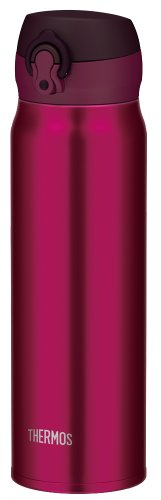 Thermos Vacuum Insulated Mug [One-touch Open Type] 0.6L Burgundy (JNL-600 BGD)