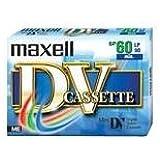 Maxell Cassetta vergine miniDV 60 min - Confezione da 1