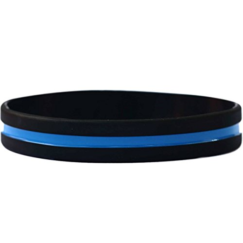 (Child Thin Blue Line Wristband (7 inch))