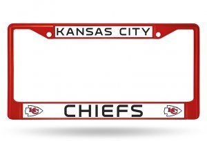 Rico Industries NFL Kansas City Chiefs Colored Chrome