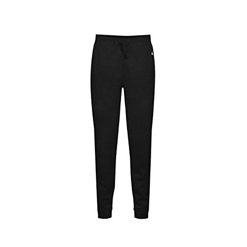 (Badger Sport Women's XS Black Fleece Jogger)